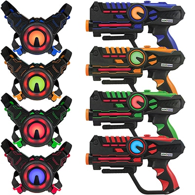 6. ArmoGear laser tag guns and blasters