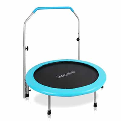 8. Serenelife 40-Inches Mini Trampoline