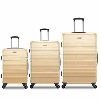 7. Galaxy Luggage Set Spinner Suitcases
