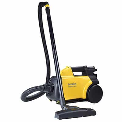 1. Eureka Mighty Corded Canister Vacuum Cleaner