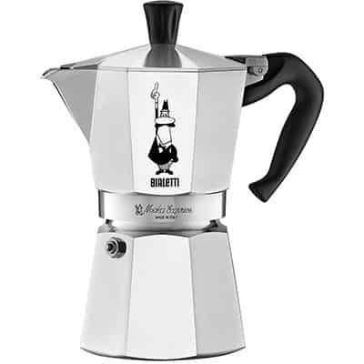 1. Bialetti Stovetop Coffee Maker