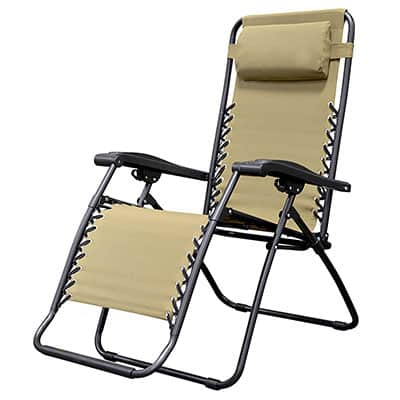 1. Caravan Sports Infinity Zero Gravity Chair