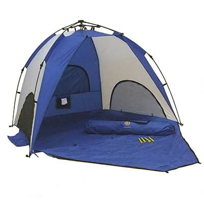 4. Genji Sports One-Step Beach Tent
