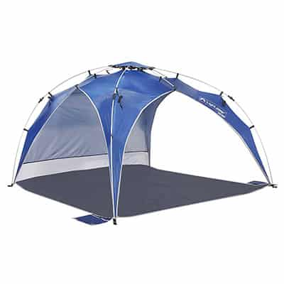 6. Lightspeed Outdoors Instant Beach Tent