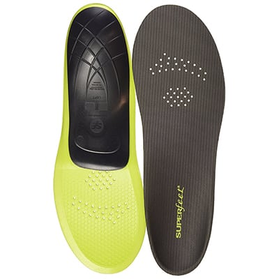 10. Super-feet Unisex Full Length Insoles