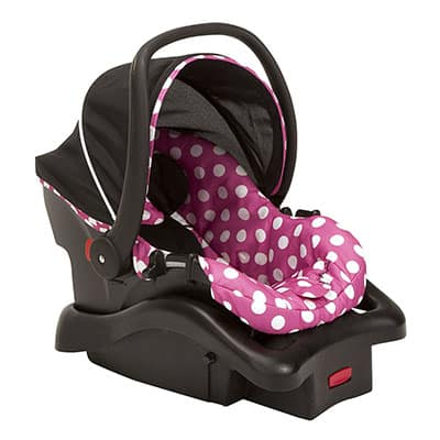 8. Disney Light Comfy Infant Car Seat