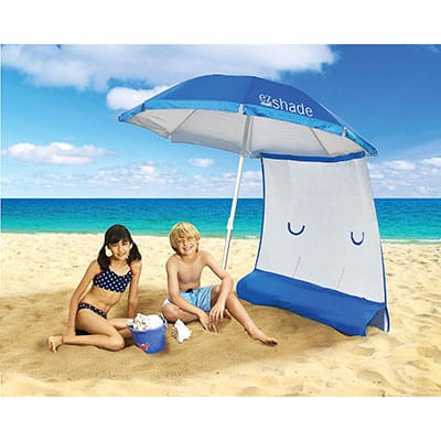 3. ezShade Superior Sun Protection Beach Shade
