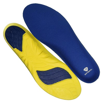 3. Sof Sole Athlete Comfort Full Arch Insoles