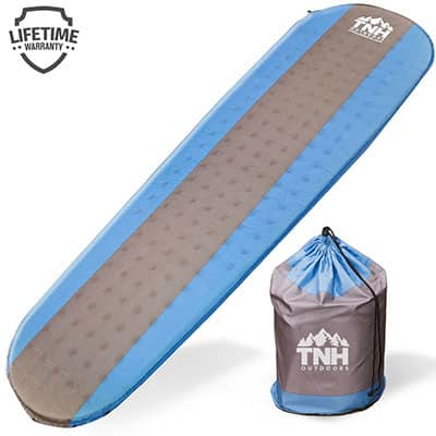 1. TNH Outdoors Lightweight Sleeping Pad