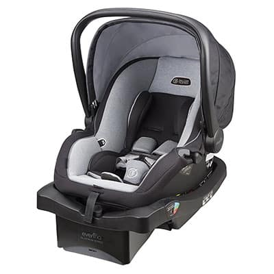 3. Evenflo Litemax Platinum Car Seat