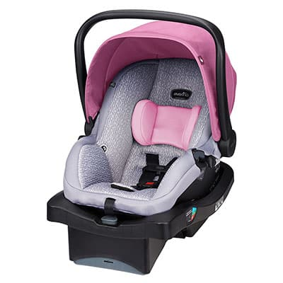 9. Evenflo LiteMax 35-Inch Car Seat