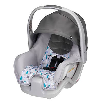 6. Evenflo Nurture Infant Car Seat