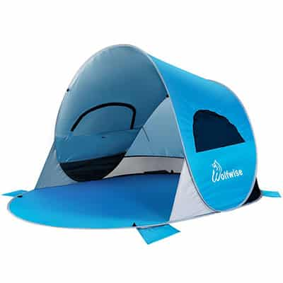 2. WolfWise Instant Beach Tent