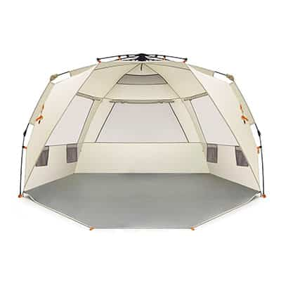 1. Easthills Outdoors 4-Person Beach Tent