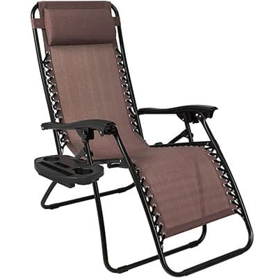 2. Best Choice Products 2PCS Zero Gravity Chair