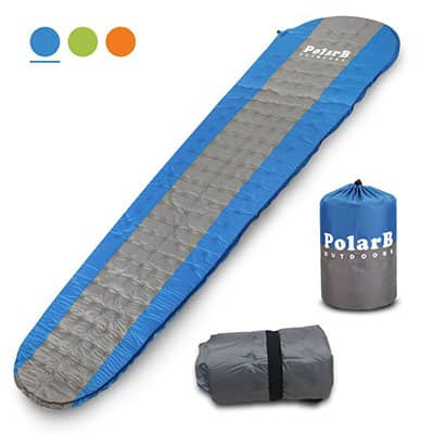 10. PolarB VVIP Self Inflating Sleeping Pad