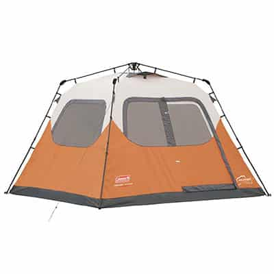 9. Coleman Waterproof 6-person Instant Tent