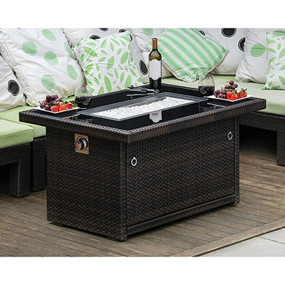 1. Outdoor Living Fire Pit Table