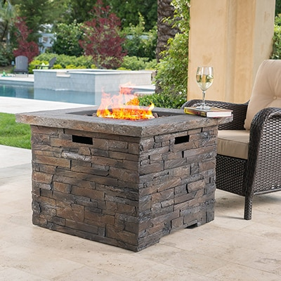 2. GDFStudio Stonecrest Outdoor Fire Pit
