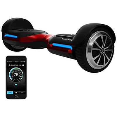 6. Swagtron App-Enabled T580 Bluetooth Hoverboard