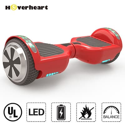 1. Hoverheart UL2272 Self-balancing Electric Scooter