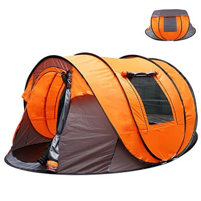 7. Oileus XL Instant Popup Camping Tent