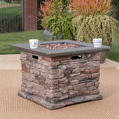 .4 Great Deal Furniture Outdoor Fire Pit