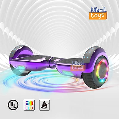 3. Wheeltoys Two-Wheeled Self-balancing Scooter