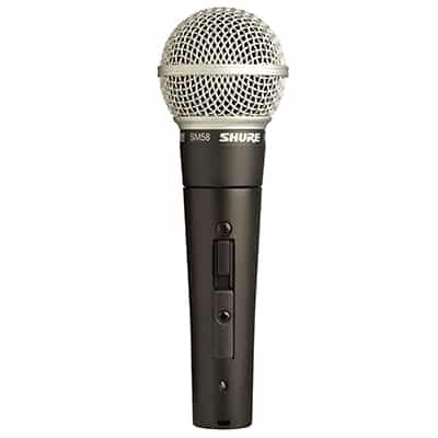1. Shure SM58S Vocal Microphone