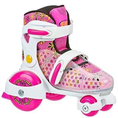 5. Roller Derby Girls Adjustable Roller Skate