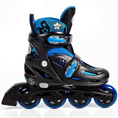 10. High Bounce Roller Blades Adjustable Skate