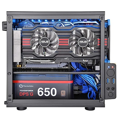 5. Thermaltake Core V1 SPCC PC Case