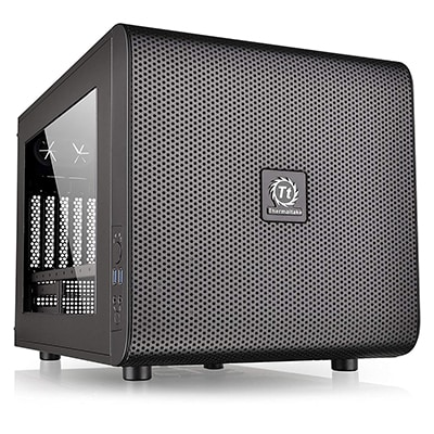 7. Thermaltake Core V21 SPCC PC Case