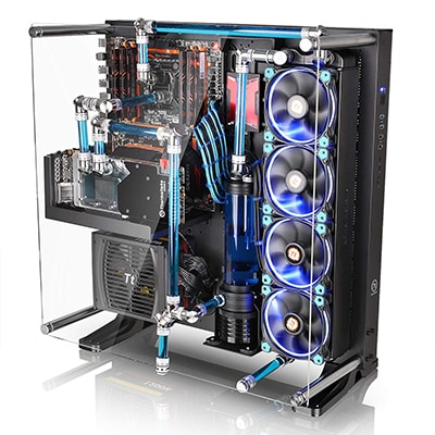 2. Thermaltake Core P5 Black Edition PC Case