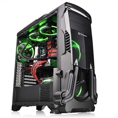 3. Thermaltake Versa N24 Black PC Case