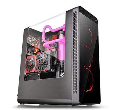 8. Thermaltake View 27 Black Edition PC Case