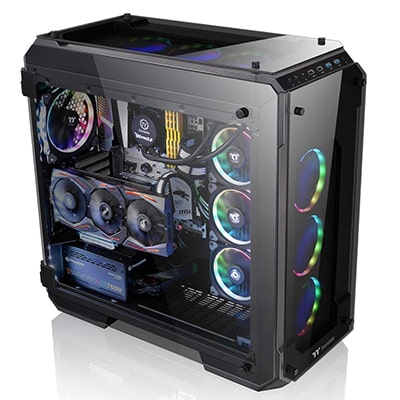 9. Thermaltake View 71 RGB 4-Sided PC Case