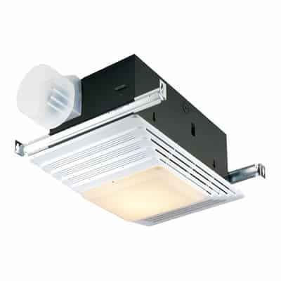 9. Broan 655 Heater and Bath Fan with Light Combination