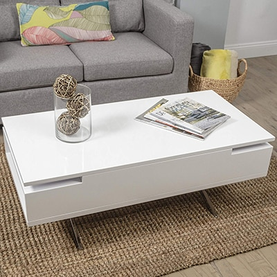 4. Mix Lift Top Coffee Table
