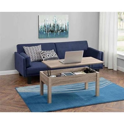 8. Mainstays Lift Top Coffee Table