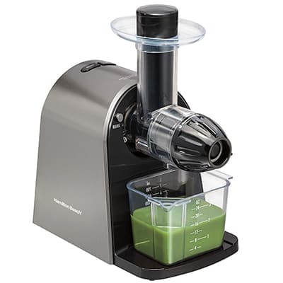 10. Hamilton Beach Masticating Juicer