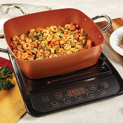 12. Copper Chef Induction Cooktop