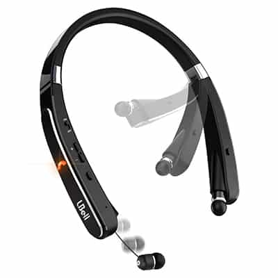 6. LBell Wireless Neckband Headphones