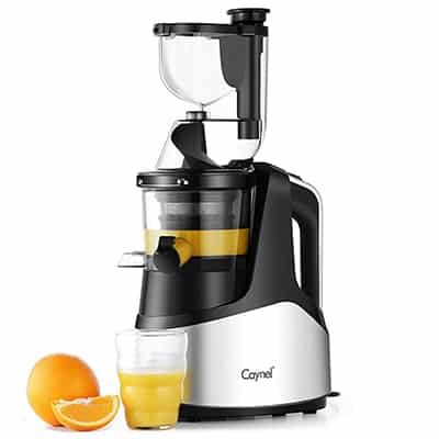 1. Caynel Slow Masticating Juicer