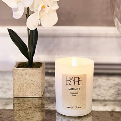 10. Bare Kollections - Soy Candles