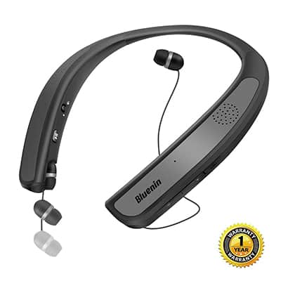 4. Osten Design Bluetooth Headphones Speaker Neckband Wireless Headset