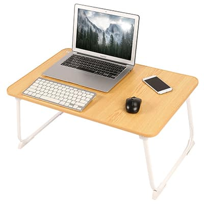 2. Nnewvante Bed Tray Laptop Table Lap Desk Folding Desk Notebook Stand