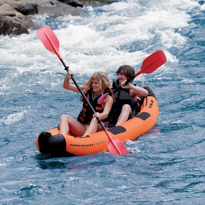 5. Airhead Montana Kayak Two-Person Inflatable Kayak