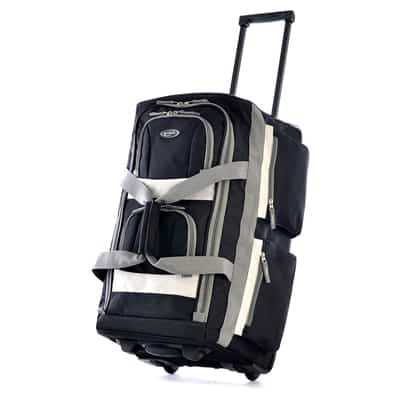 6. Olympia Luggage Rolling Duffel Bag