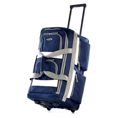 9. Olympia Luggage Rolling Duffel Bag